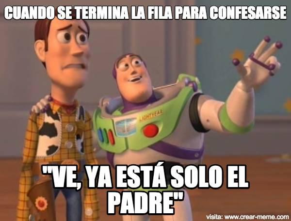 meme confesión